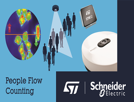 AI-enabled People-Counting Solution by STMicroelectronics and Schneider Electric thumbnail