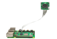 Fig:1 e-CAM130_CURB, 13MP MIPI camera connected with Raspberry Pi 4