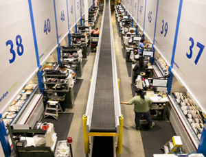 Mouser Distribution Center Automation