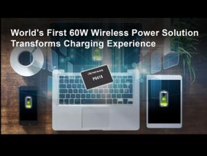 60W Wireless Power Charging Receiver IC