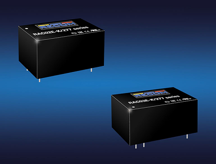 RECOM launched Low Cost, Board-Mount 2W & 3W AC/DCs Converters