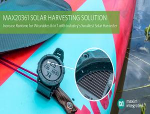 MAX20361 Solar Harvesting Solution