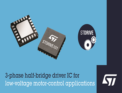 3-Phase Half-Bridge Driver IC for Low-Voltage Industrial Applications up to 75V