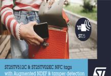 ST25TV NFC tags