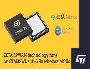 STM32WL sub-GHz wireless MCUs