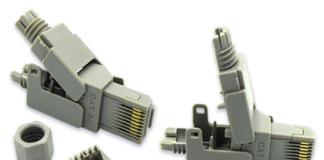 RJ45 Punch Down Modular Plug