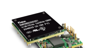 DC converter for RF Power Amplifiers