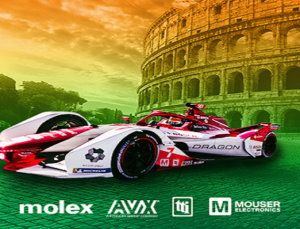 Mouser Backs Formula E Team