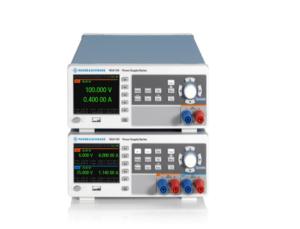 R&S NGA100 series of basic power supplies