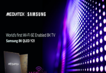 Wi-Fi 6E Enabled 8K TV