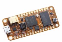 OrangeCrab open-source FPGA development board