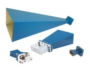 Standard Gain Waveguide Horn Antennas
