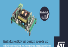 ST's MasterGaN Reference Design