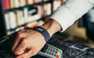 Wristband for contactless payment