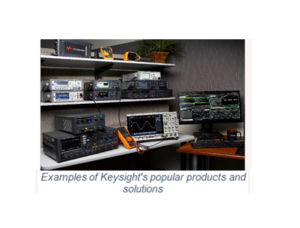 Keysight B2B eCommerce site