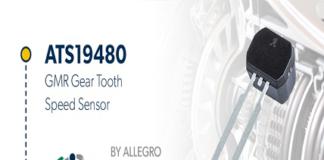 GMR Speed Sensor IC for Gear Tooth Sensing