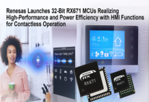 32-bit Microcontrollers (MCUs) with HMI Functions