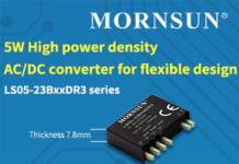 5W high power density AC DC Converter