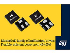 MasterGaN Devices for High-Efficiency Power Conversion