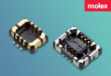 Micro connector for RF and antenna design