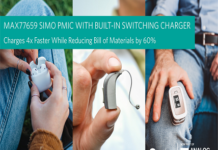 Power Management IC for Wearables & Hearables