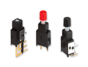 Space-Constrained Push Button Switches