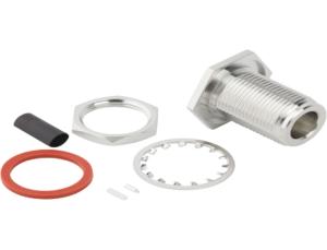 Waterproof sealed N-Type connectors