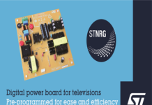 Digital-Power Board for LED Televisions