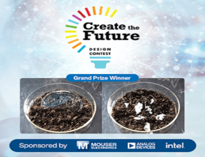 Mouser Create the Future Design 2021 Winners