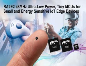 Tiny MCUs for Energy Sensitive IoT Edge Devices
