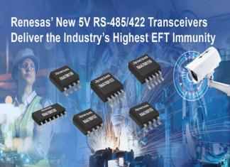Transceivers for noise-sensitive communication networks