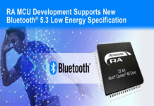 Wireless MCUs for Bluetooth 5.3 Low Energy Specification